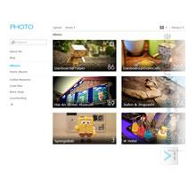100 GB Webanwendung Gallery Photohosting